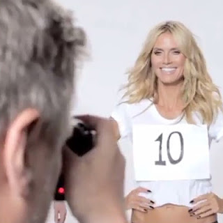 Heidi Klum made fun of Donald Trump