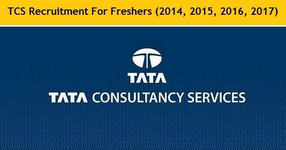 tcs recruitment 2017 tcs careers job openings for freshers
