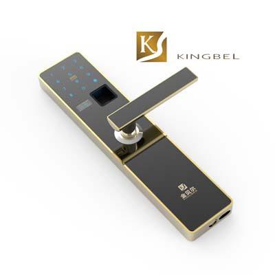 Một mẫu khóa cửa vân tay Kingbel được ưa chuộng