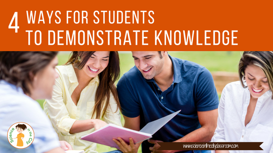 4 Ways to Students to Demonstrate Knowledge with Technology