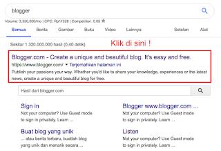 Menghasilkan uang dengan blog