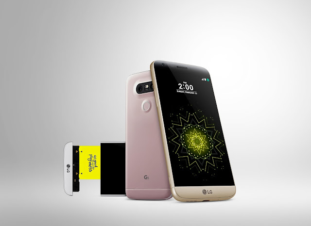 LG estrena el G5, su primer smartphone modular