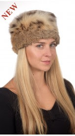Authentic Lynx fur hat