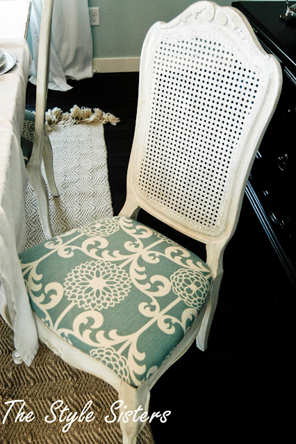 Thrift Store chair makeover the EASY WAY, The Style Sisters, Quick chair makeover, DIY