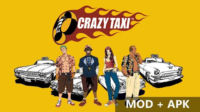 mod crazy taxi terbaru 2018