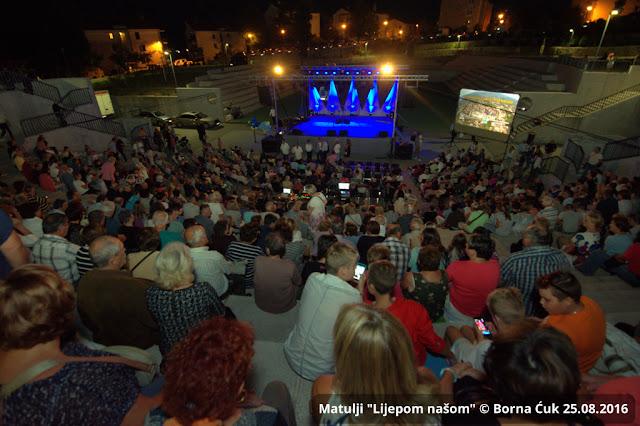 """""""LIJEPOM NAŠOM"""" – LJETNI ĐIR @ Otvorenje Amfiteatra Matulji, 25.08.2016"""