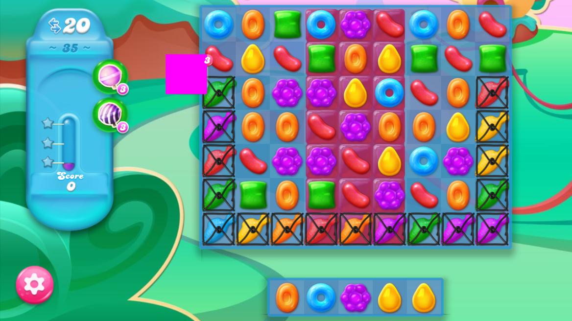 Candy Crush Jelly Saga saga 35
