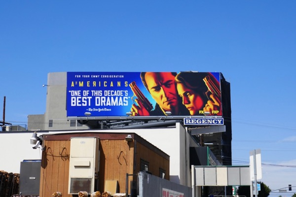 Americans season 6 Emmy FYC billboard