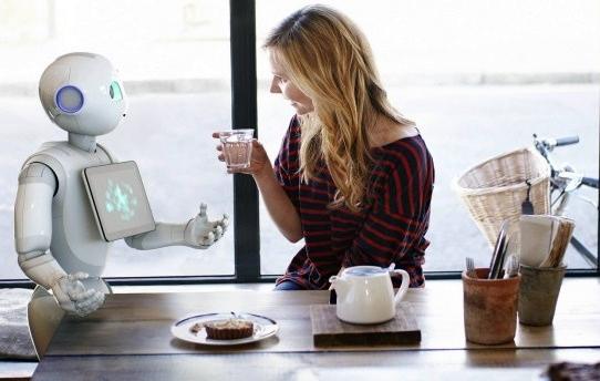 O principal apelo do robô Pepper é a capacidade de reconhecer emoções.