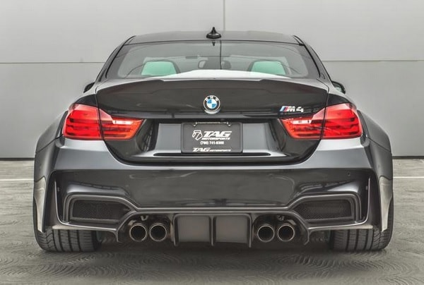 TAG Motorsports preparó un BMW M4 Coupe brutal