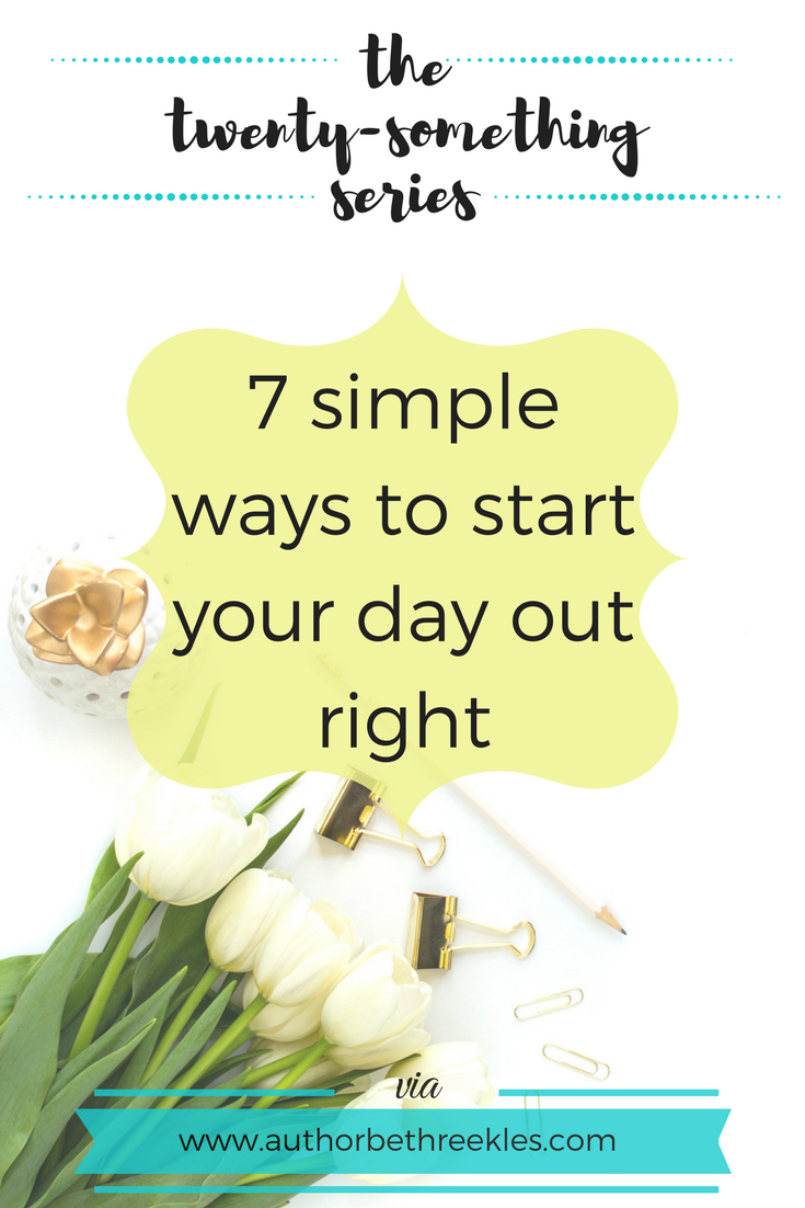 Mornings are rough, but here are a few easy things to do when you wake up that can help your day start out right.