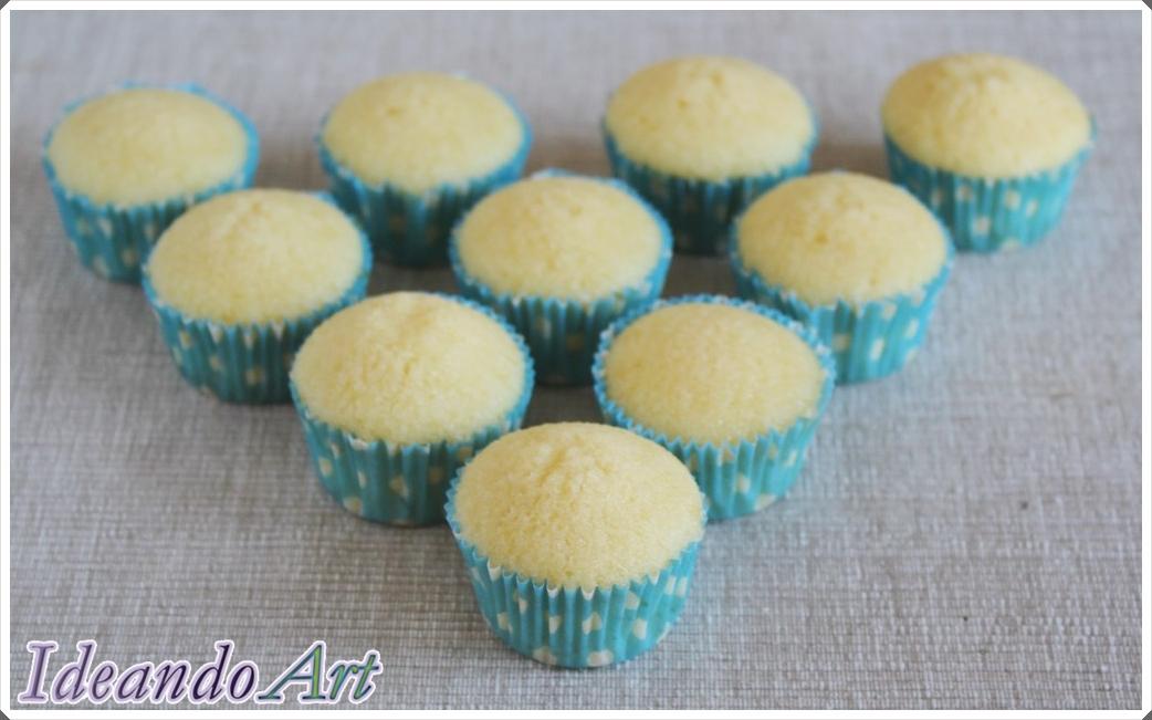 Cupcakes melón