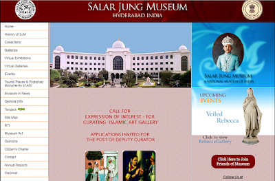 official website of Salar Jung Museum