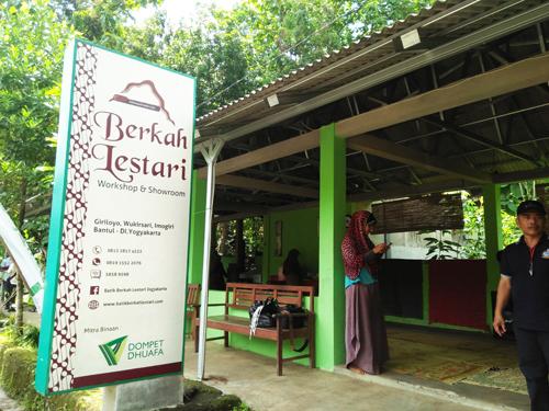 batik tulis berkah lestari giriloyo imogiri