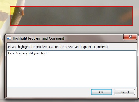 Highlight Problem and Comment