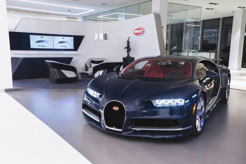 Bugatti opens Toronto showroom with new brand design