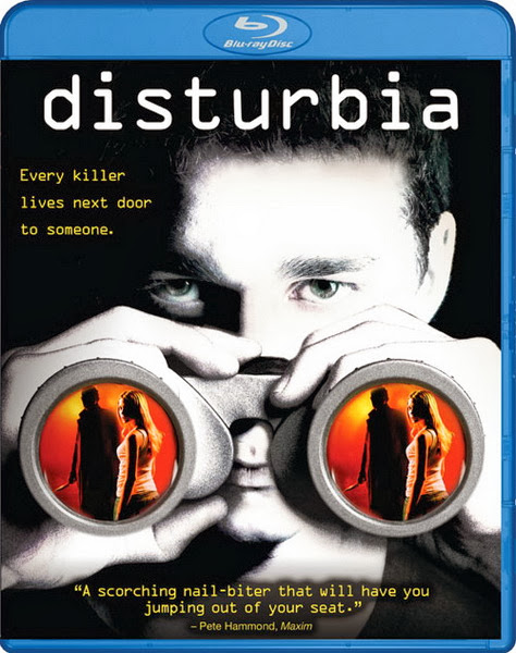 Disturbia 2007 Hindi Dubbed Dual Audio BRRip 300mb
