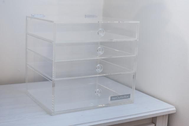 Empty HerClutterBox on Dresser
