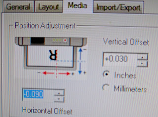 L801 Position Adjustment
