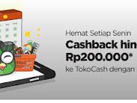 Wah Tokopedia Ada Promo HSBC ,  Cashback Mantap Hingga Rp200.000
