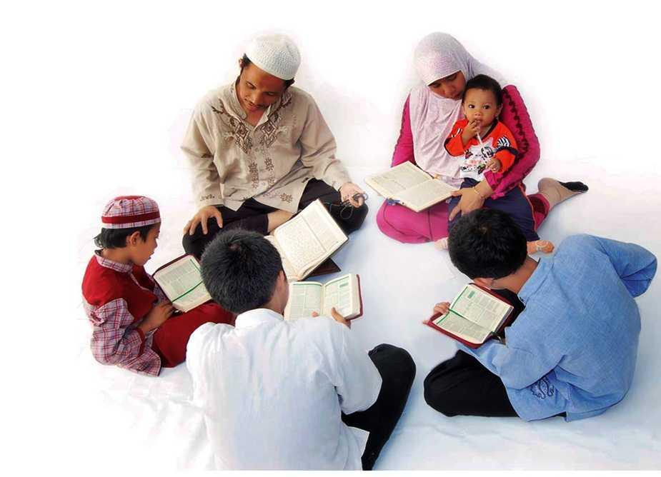 Gambar membentuk pendidikan keluarga dan karakter anak