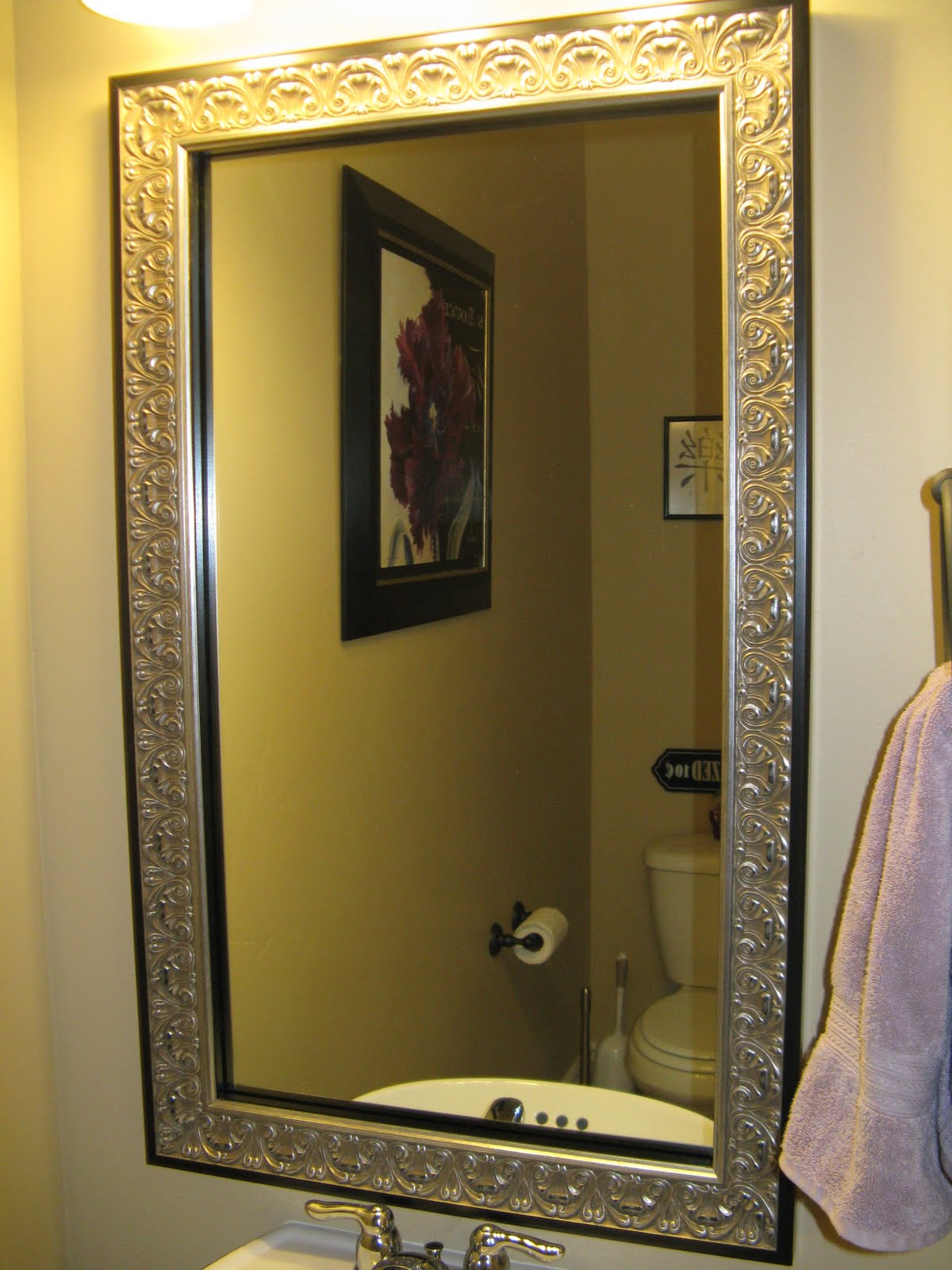 Do It Yourself Home Design: Reflected Design: Mirror Frame Kit