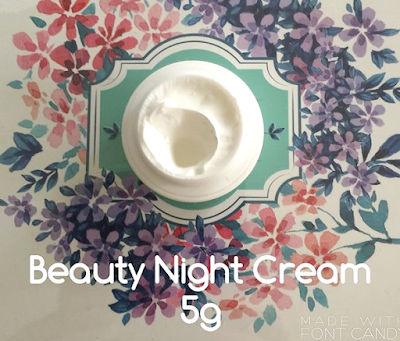 tsya night cream
