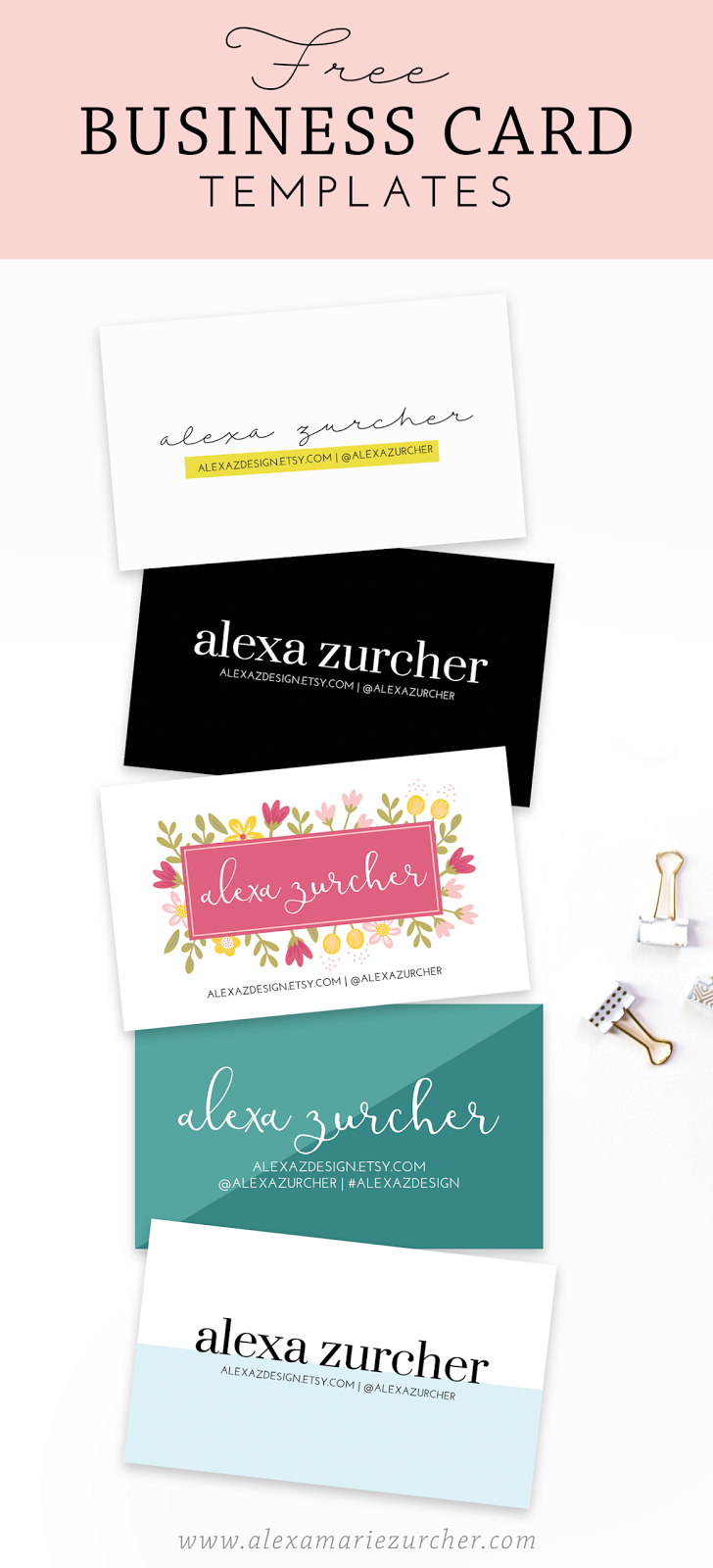 Free business card templates zurcher co he i party for Free complimentary cards templates
