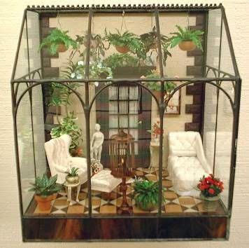 Miniature Greenhouse Beautiful And Cool For Ideas And