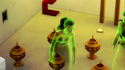 sims 4 ghost of scorching heat