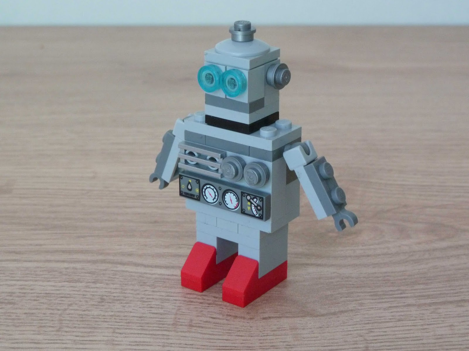how to build a lego robot instructions