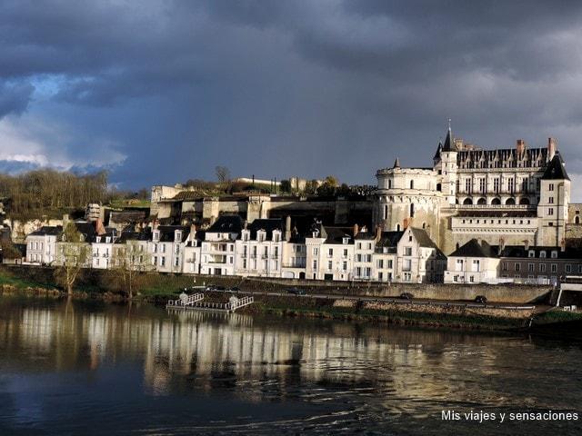 Amboise y el castillo du Clos Lucé, Valle del Loira, Francia