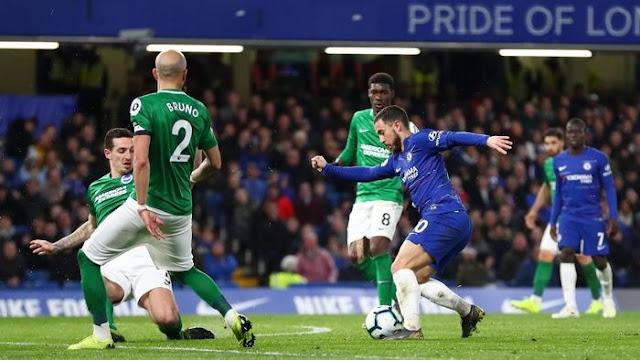 Hasil Liga Inggris: Chelsea Tumpas Brighton 3-0