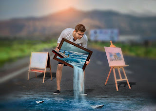 The Painter |swappy pawar editing |3D Painting| manipulation Editing