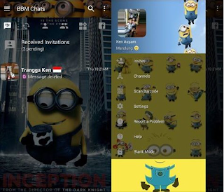 download bbm mod minion v3.3.1.24 apk