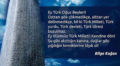 göktürk, türk, bilge kağan, tonyukuk, Türk Milleti, Türk Töresi, Türk Devleti, titre ve kendine dön, güzel sözler, anlamlı sözler, özlü sözler, atasözleri
