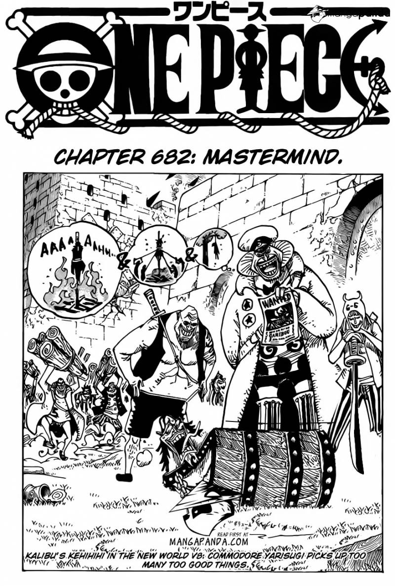One Piece Chap 682