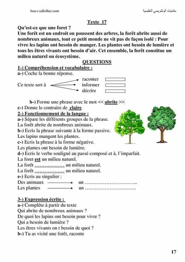 Sujets de Composition avec Correction 5 Ap