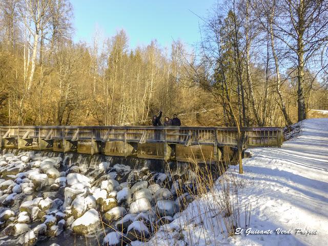 Puente Madera, Akerselva - Oslo por El Guisante Verde Project