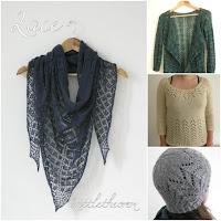 lace knitting pattern ebook