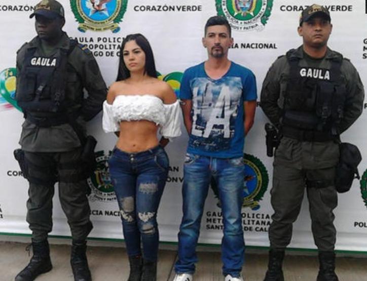 VIDEO; Detienen a Paulina Karina Díaz famosa modelo y presentadora de TV por secuestro