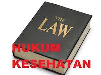 Pengertian Hukum Kesehatan