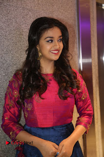Actress Keerthi Suresh Stills at Remo Success Meet  0106.JPG