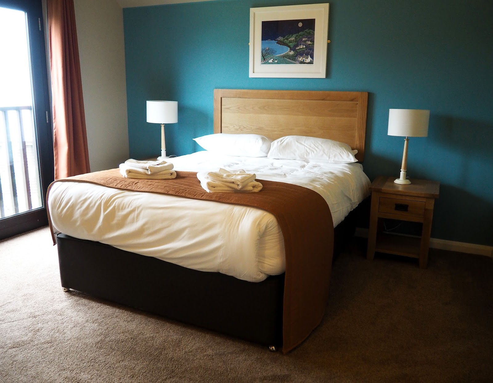 Bluestone Wales St Davids Lodge Double Bedroom