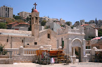 Nazareth in photos: Greek Orthodox Church of the Annunciation, also known as the Church of St. Gabriel or St. Gabriel's Greek Orthodox Church