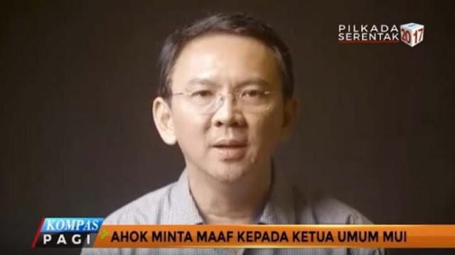 Video Maaf Ahok Dinilai Cuma Mau Cari Untung Lewat Iklan, 800 Banser Bakal Geruduk Markas Ahok