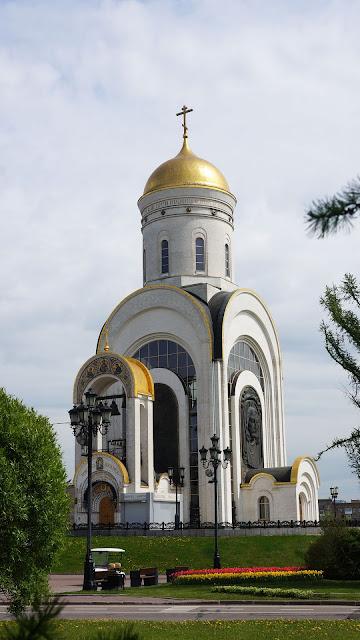 Фото мемориального Храма Георгия Победоносца