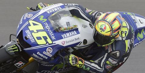 Rossi: Menyenangkan Bisa Kalahkan Marquez!
