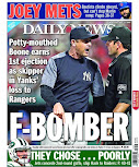Boonie cops a back page