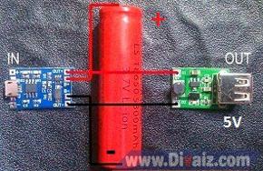 Rangkaian powerbank - www.divaiz.com